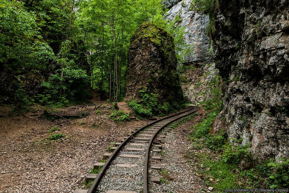 Изгибы железной дороги