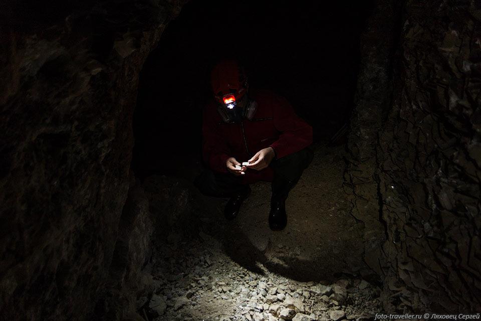 На первых этапах разведки урана были обнаружены мощные баритовые жилы.
