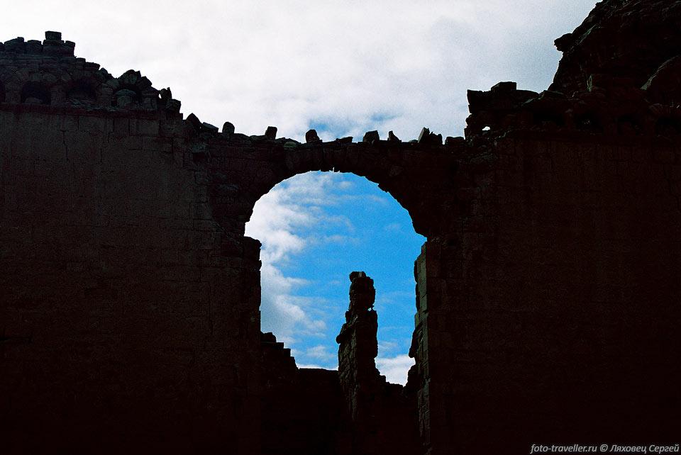 Замок каалат маркаб средиземное море